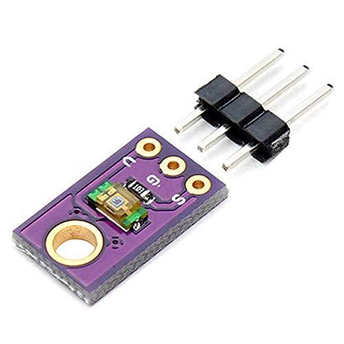 Mazudr NEU TEMT6000 Lichtsensor TEMT6000 Professioneller Lichtsensor für Arduino (Farbe: lila)