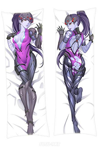 SUSUFAIRY Widowmaker Overwatch 160x50cm Two Way Tricot Body Pillowcase Cover