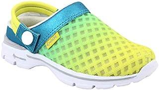 KazarMax Lemon Turquiose Fashion Fashion Slipon's/Sandals/Hopits/Clogs and Mules for Kids/Unisex (Made in India)