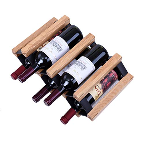 Casier À Vin En Bois Massif En Bois Vin Salon Décoration Européen Cabinet Restaurant Rack Peut Mettre 5 Bouteilles De Vin Rouge