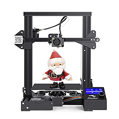 Creality Ender 3 pro 3D Printer, Fully Open Source with Resume Printing Function, Removable Build Surface Plate, for Family Education by Pimiho 2020 Ender-3 Series, 220x220x250MM