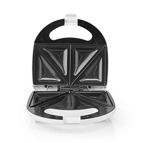 TronicXL Sandwich Maker Sandwichtoaster Sandwichmaker Bereiter • Antihaftbeschichtung • Cool Touch - ohne Öl fett fettfrei gesund kochen