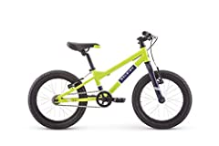 Aluminum frame for lightweight durability; fits ages 3 to 6 years old or 38 to 45 inches tall 16 inch wheels keep the bike sized just right for young riders Single speed so kids can focus on the ride without having to shift gears Alloy V brakes for s...