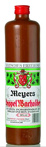 BIRKENHOF Brennerei   Meyers Doppelwacholder   (1 x 0,7l ) - 38 % vol.