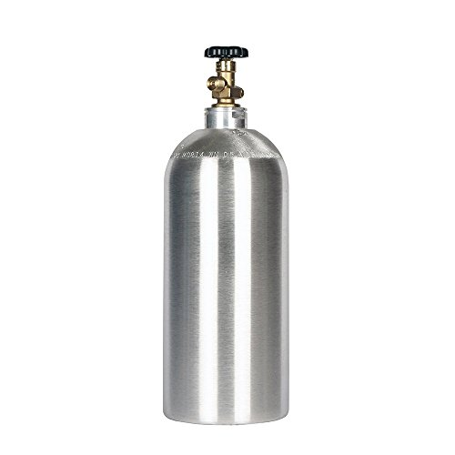 10lb co2 Tank New Aluminum Cylinder with CGA320 Valve