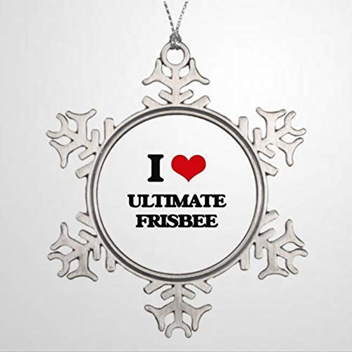 BYRON HOYLE Xmas Trees Decorated Waterford Ornaments I Love Love Ultimate Personalised Christmas Snowflake Ornaments Xmas Decor Wedding Ornament Holiday Present