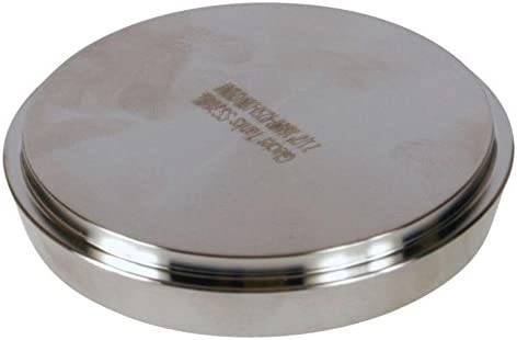DIN Blank Cap - Stainless Steel SS304 Glacier Tanks - 2.5 inch 3 Pack 65mm
