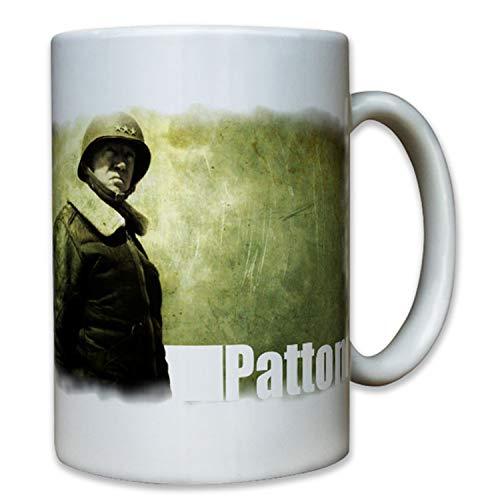 Tazza da caffè del generale George Smith Patton dell'esercito americano durante lo sbarco in Normandia, n. 8065