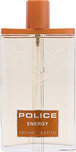 Police Energy pour homme Eau de toilette pour homme en flacon vaporisateur 100 ml Parfum avec sac cadeau
