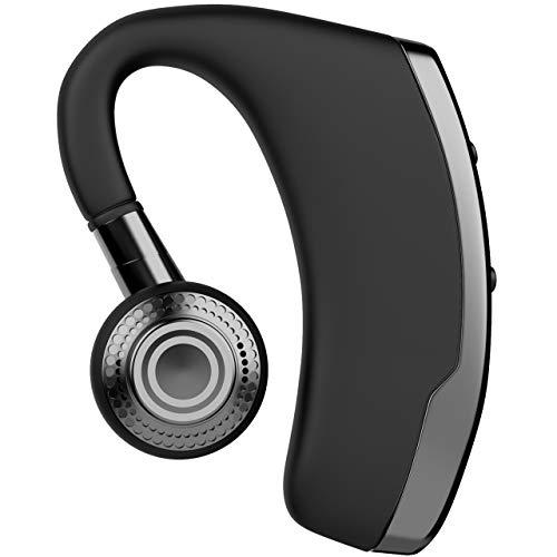 Kabellose Mobiltelefon-Kopfhörer, Bluetooth, mit Mikrofon, Geräuschunterdrückung, In-Ear-Kopfhörer, für alle Smartphones, Schwarz