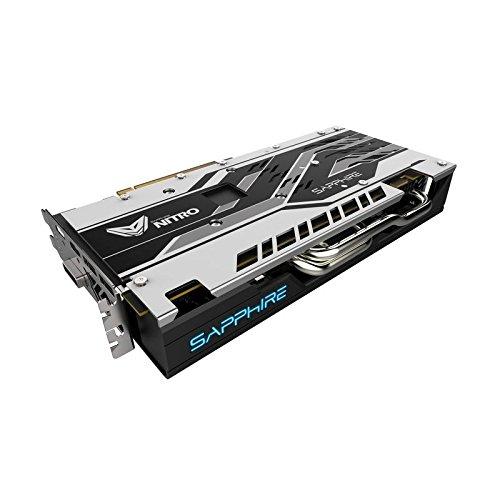 Sapphire 8GB RX580 Nitro + OC - ATI Radeon PCI-E Graphics Card...