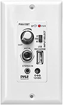 Pyle Bluetooth In-Wall Audio Control Receiver