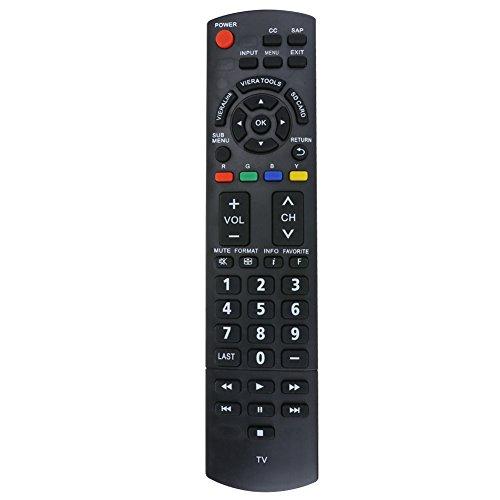 Mando a distancia universal para Panasonic N2QAYB000321 2009 LCD y Plasma TV