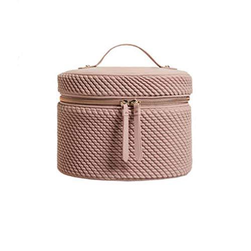 BaoYPP Sacs de Toilette Rose Trousse de Toilette cosmétique Sac à Grande capacité de Stockage Portable Sac Voyage Femme (Couleur : Pink, Size : 23x16x16cm)