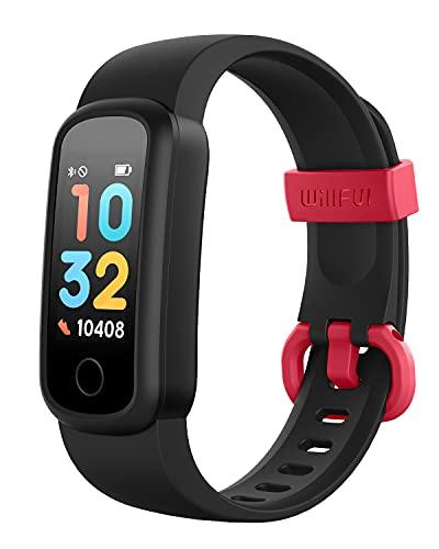 Willful Fitnessuhr Kinder,Fitness Tracker für Kinder Mädchen Junge Fitness Armband Smartwatch Kinder mit Schrittzähler,Pulsuhr Kalorienzähler,Schlafmonitor,Wasserdicht IP68 Aktivitätstracker