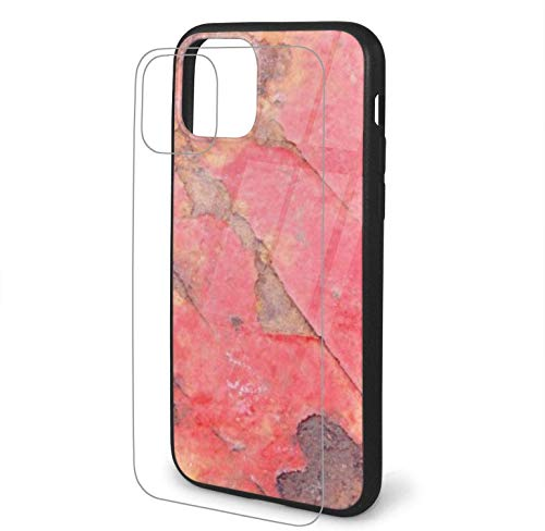Diseño con Photo Iron Surface Rust Compatible para iPhone 11 Funda Hard Pc + Soft TPU Protector a Prueba de Golpes Thin Phone Cover Pro Max-iphone11Promax-