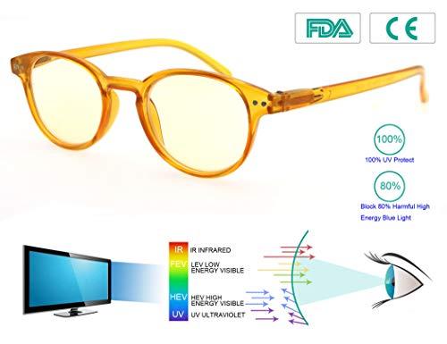MODFANS Gafas Lectura 0.5 Anti luz Azul/Gafas Ordenador