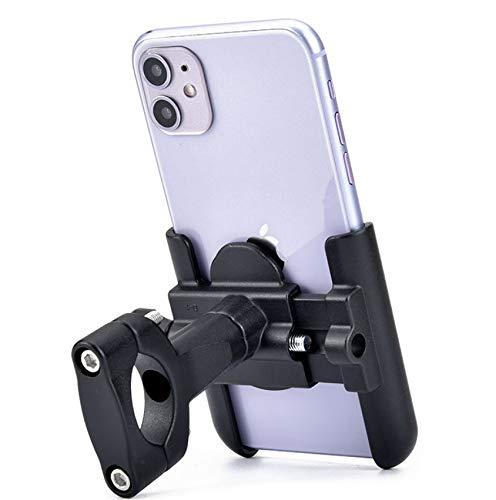 Soporte de teléfono de Motocicleta de Bicicleta de aleación de Aluminio, Soporte de teléfono de Bicicleta Universal, Soporte móvil de Manillar Ajustable