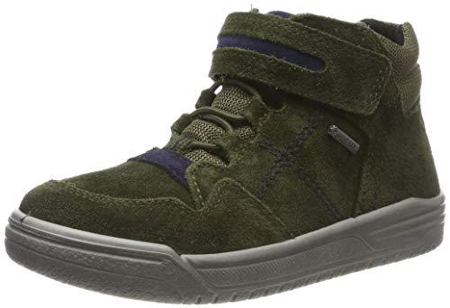 Superfit Jungen EARTH-509059 Hohe Sneaker, Grün (Grün/Blau 70), 27 EU