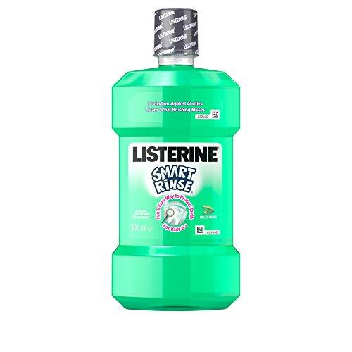 Listerine Smart Rinse Menta Niños 500 ml