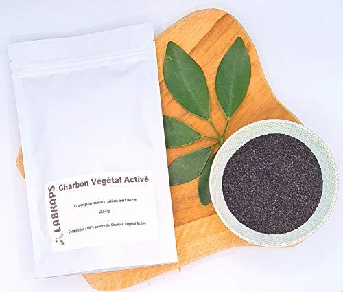 Carbono vegetal activo – Polvo 250 g
