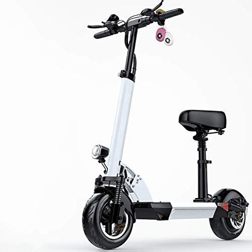 ZXWNB Scooter Eléctrico Adulto De Conducción Plegable Scooter De Dos Ruedas Mini...