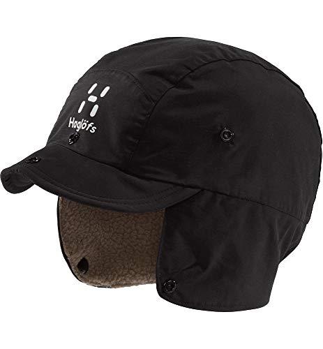 Haglöfs Mütze Unisex Wintermütze Mountain Cap Wärmend, Winddicht, Wasserdicht True Black/Dune S/M S/M - Empty for carryovers -