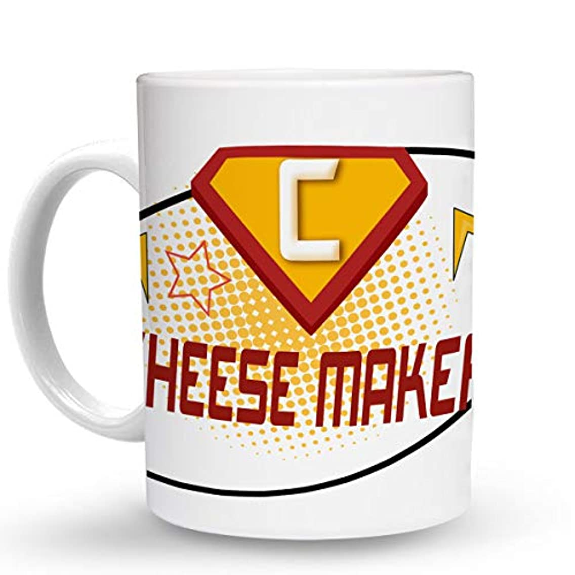 Makoroni - CHEESE MAKER Career - 11 Oz. Unique COFFEE MUG, Coffee Cup
