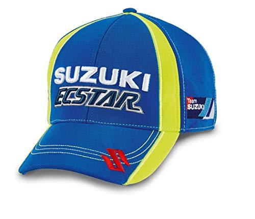 Suzuki MotoGP Ecstar Team - Gorra de béisbol (talla única), color azul