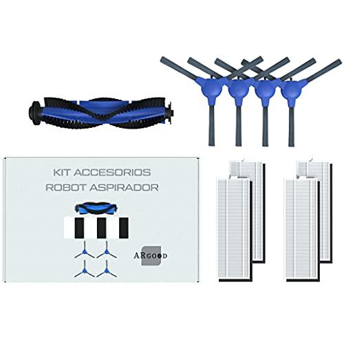 ARGOOD Kit recambios accesorios para Cecotec Conga 1099 1090 y 1790 .Set de repuestos robot aspirador.