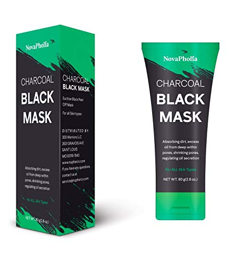 Blackhead Remover Mask Charcoal Peel Off Mask Black Mask With Blackhead Extractor and Brush – Deep Cleansing Facial Mask – Blackhead and Oil Control Mask
