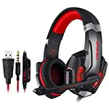 KOTION EACH Headset Noise Reduction Game Audio Video Competition Headset with Microphone Three Point Five +USB Single Hole Headset PS4