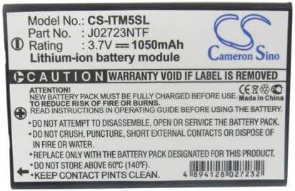 3.7V Battery Compatible with GPS BT Oakland Mall i.Trek M5 Popular popular