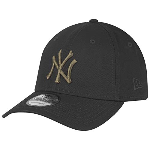 New Era 9Forty Strapback Cap New York Yankees schwarz Oliv
