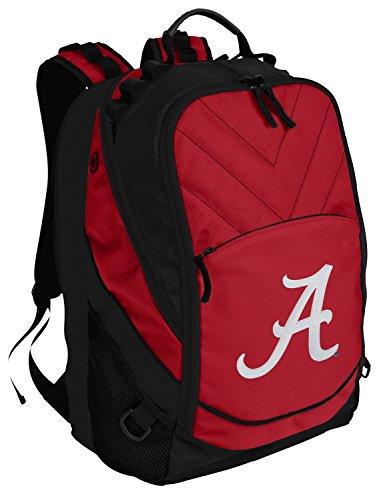 Alabama Crimson Tide Backpack Red UA University of Alabama Laptop Computer Bags