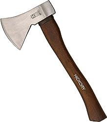 RUTHE 3006062019 - Hacha DIN 5131 B – 7294 B con mango de madera de hickory (600 g)