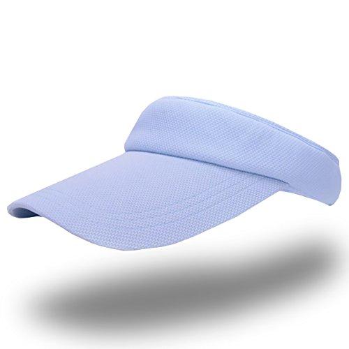 ONELIMITATION(ワンリミテーション)バイザーサンバイザー帽子つば広紫外線UVカットスポーツレディースCP029(06ブルー)