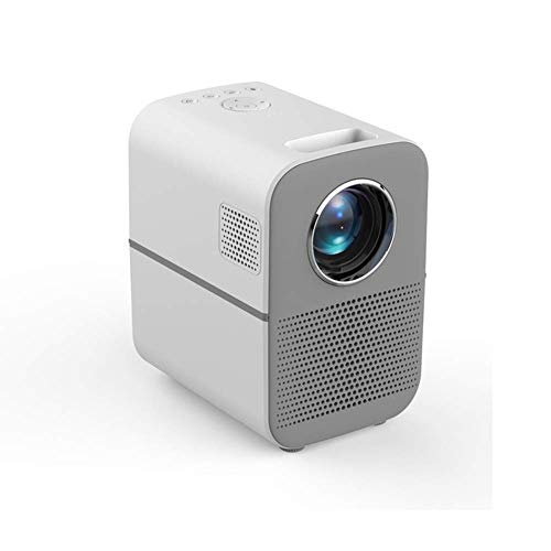 ALIZJJ Professional Native 1080P Full HD LED Projector HDMI Projector with Display Compatible TV Stick Mini Portable Projector Best Shooting Distance 0.5-3m