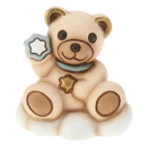 THUN ® - Teddy Bimbo Mini su Nuvola - Ceramica -