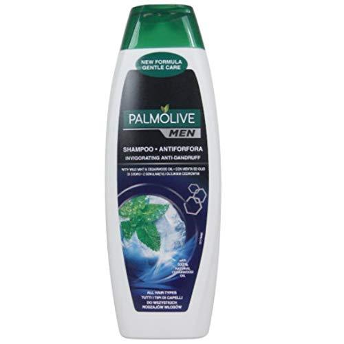 6 x Palmolive Men Hair Shampoo Antiforfora (Antischuppen) mit Minze- 350ml