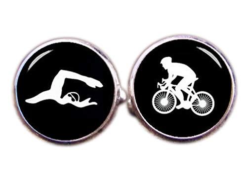 chen jian xin Cyclette Gemelli Gemelli, Nuoto, Sport Gemelli