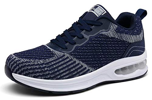 Luchtkussen sneaker voor heren en dames, lichtgewicht atletische hardloopschoenen, wandelschoen voor sport Gym training…