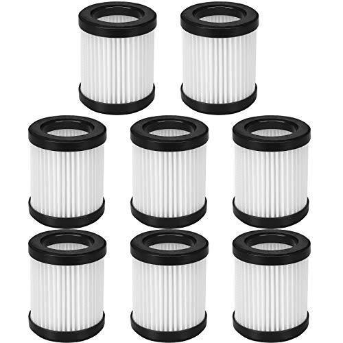 KEYJINIU 8 Pack Replacement Filters Compatible for MOOSOO XL-618A Cordless Vacuum