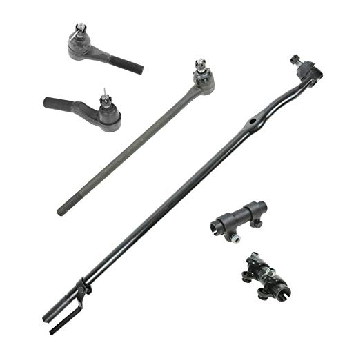 Tie Rod Ends Adjusting Sleeves Front Inner Set for F100 F150 F250 F350 Bronco