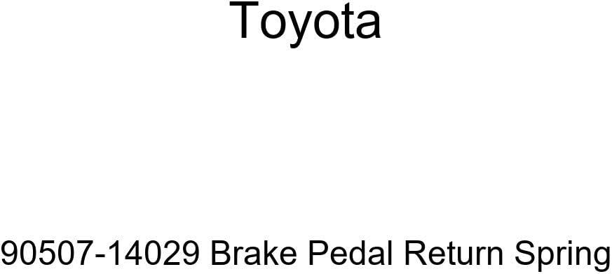 TOYOTA Virginia Max 88% OFF Beach Mall Genuine 90507-14029 Brake Pedal Spring Return