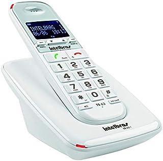 Telefone de Mesa Fixo sem fio Bina ID TS 63 V Design Moderno