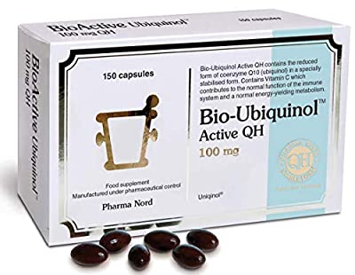 Pharma Nord Bio-Ubiquinol Q10 Active QH 100mg 150 Capsules by Pharma Nord