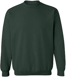Mens Soft & Cozy Crewneck Sweatshirts in 33 Colors. Sizes S-5XL