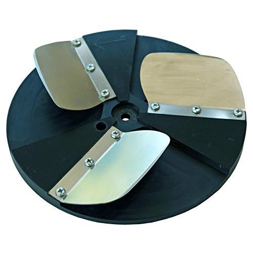 ROKAMAT Schaber-Scheiben - Ø200mm - 2er Pack - zum Entfernen von Tapeten oder für andere Schabearbeiten geeignet