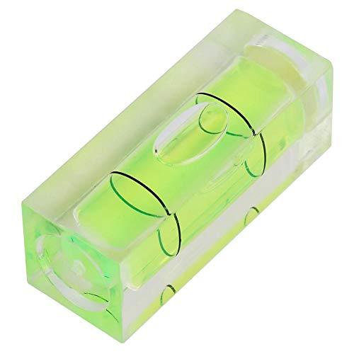 Yosoo Health Gear Mini Niveau à Bulle, 5 pièces Niveau à Bulle Horizontal carré de Haute précision Niveaux de Suspension d'image marquent Les Instruments de Mesure Outils de Disposition 15x15x40MM